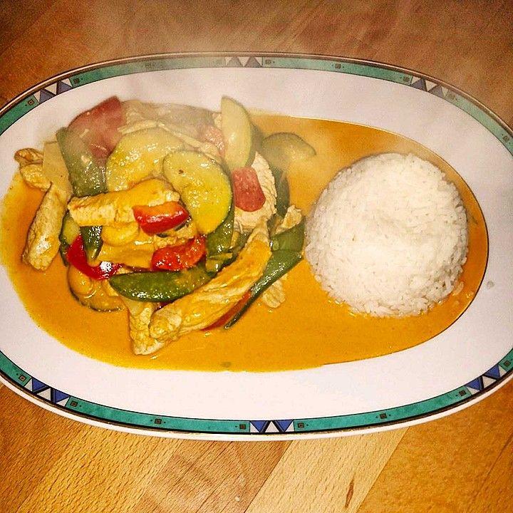 Photo of Rotes Thai-Curry wie beim Thailänder von xXSimi92Xx | Chefkoch