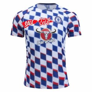 2018-19 Cheap Pre-Match Jersey Chelsea Replica White Training Shirt  CFC600  19b745143