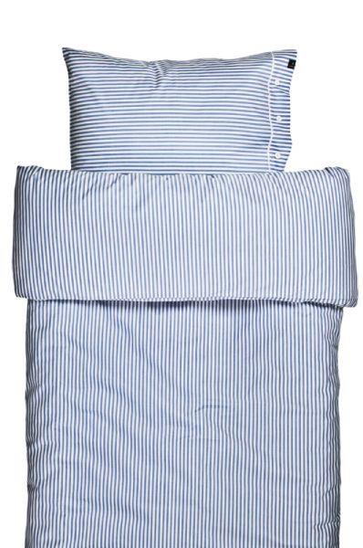 a75d3821bf4 Klassisk oxford stribet sengetøj i blåt og hvidt fra Himla - Covermepure