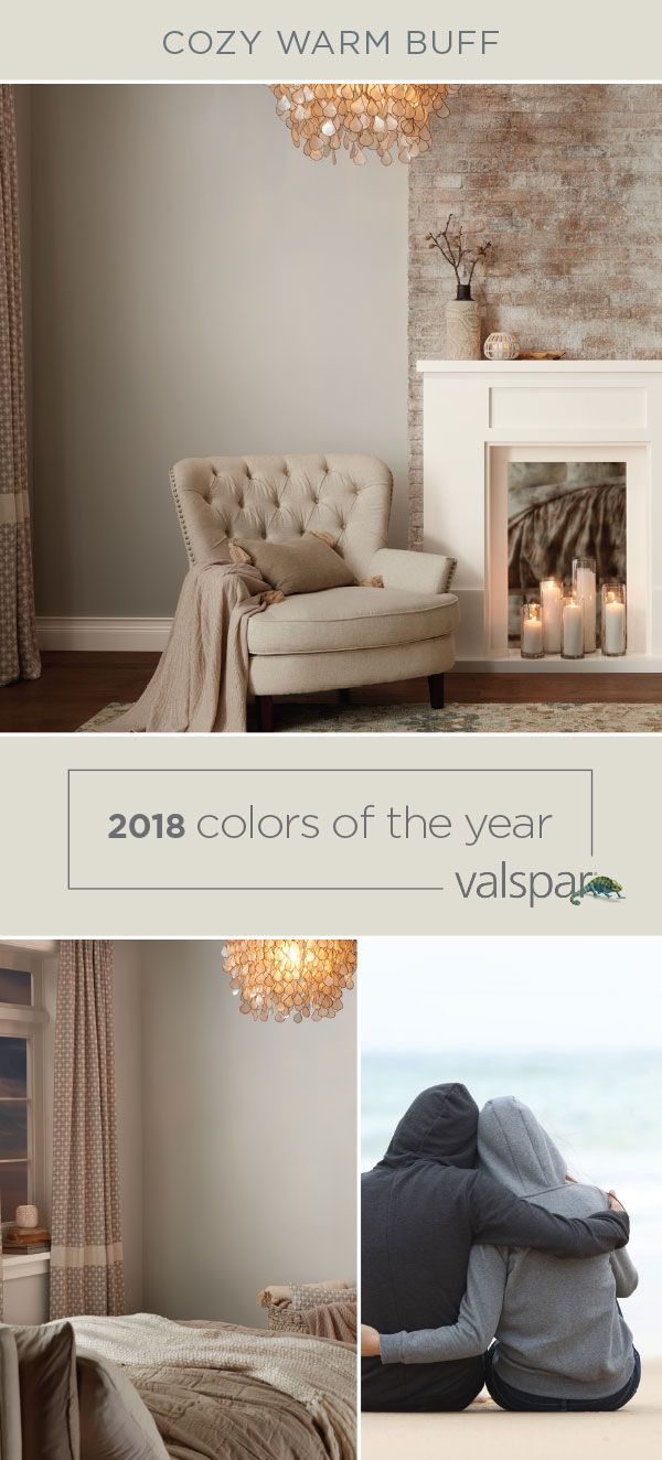 living room wall colors 2018 chair design for warm buff one of valspar s trending is perfect a cozy change starts with lowe 4001 2a cadet gray