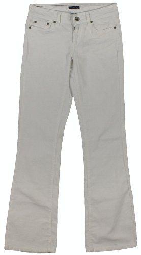 Tommy Hilfiger Women's Modern Bootcut Corduroy Pants (Cream)
