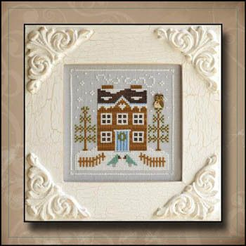 Country Cottage Needleworks - Cross Stitch Patterns & Kits - 123Stitch.com BLUEBIRD COTTAGE? THE BIRDS LOOK LIKE RE-COLORED CARDINALS BUT OVERALL THIS IS A PLEASING DESIGN.