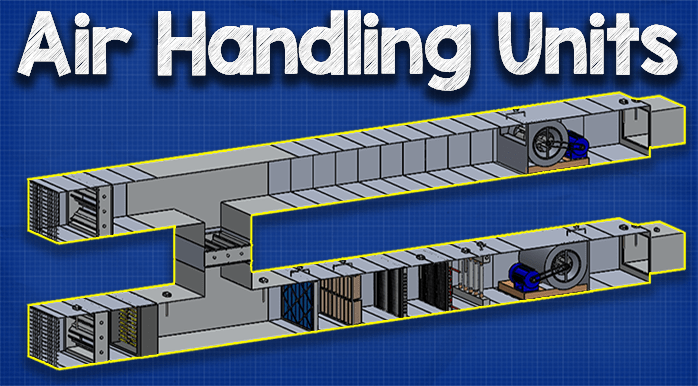 How Air Handling Units Work With Images The Unit Duct Work