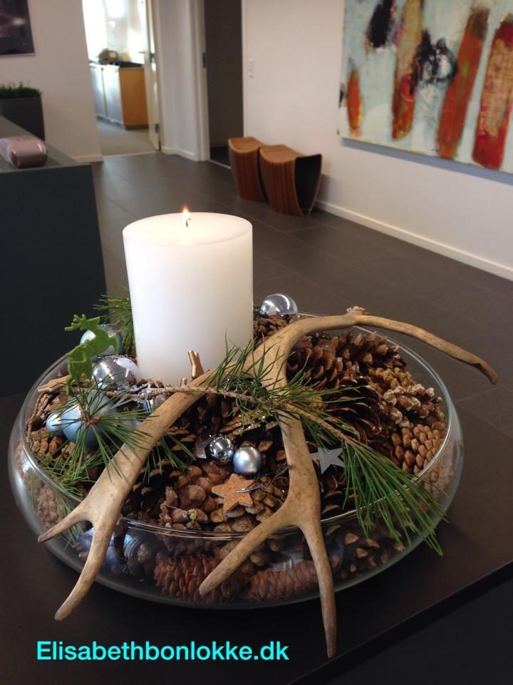 Pin von stefanie wehmeyer auf deko pinterest weihnachten deko weihnachten und - Dekoration hirschgeweih ...