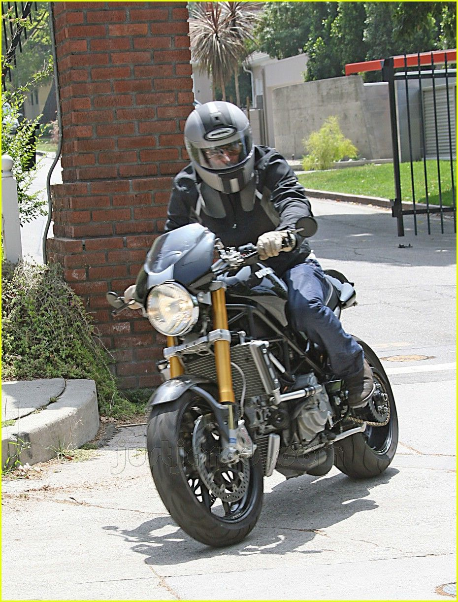 Brad Pitt On Ducati S4r Monster Pinterest 848 Evo Fuse Box Location