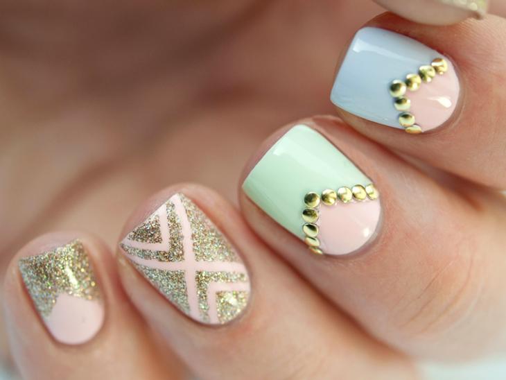 15 increíbles y fáciles diseños para tus uñas. ¡Los amarás!   Uñas ...