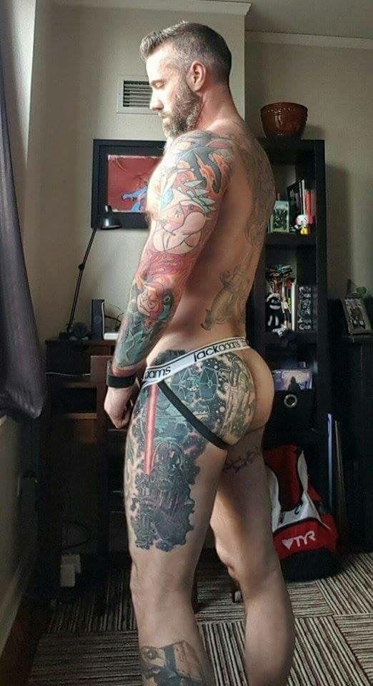 Gay Bulging Briefs 54