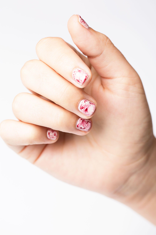 25 Beautiful Spring Nail Art Designs | Pinterest | Marble nail art ...