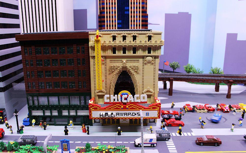 Chicago Theatre - LEGOLAND Discovery Chicago Miniland ...