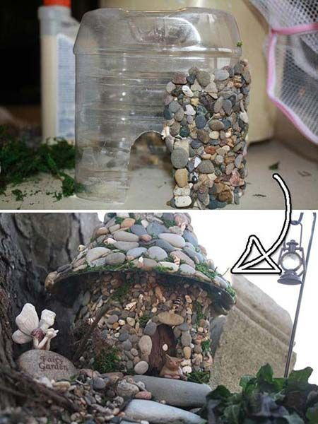 Photo of 17 cutest miniature stone houses to embellish the # of the # miniature stone …