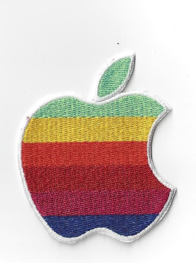 Details about 3 inch APPLE COMPUTER LOGO IRON ON PATCH BUY ...