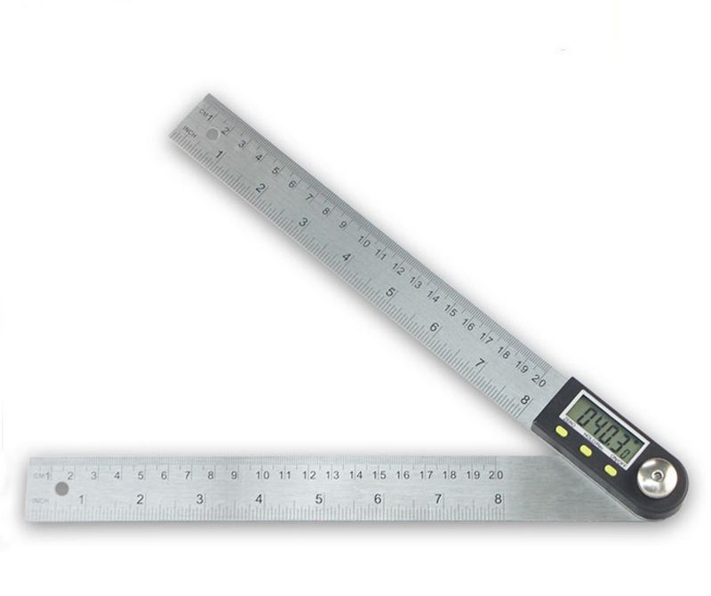 New Stainless Steel Digital Angle Ruler Finder Guage Meter Protractor Goniometer