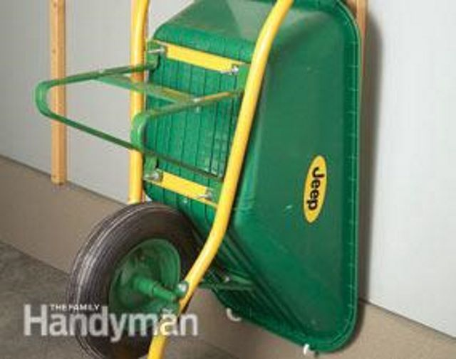 Wheelbarrow Storage Ideas 9 Ways To Get Organized Garage