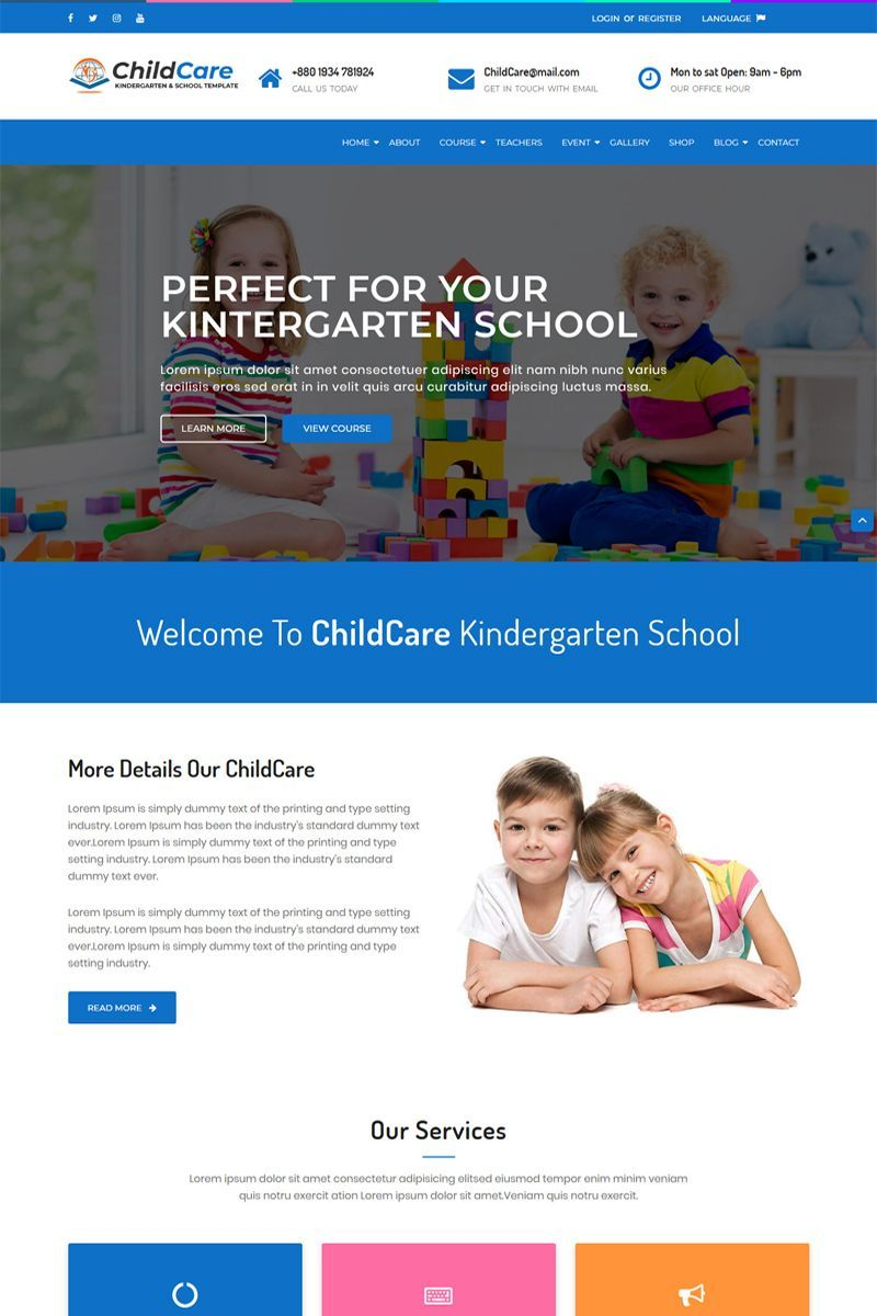 ChildCare Kindergarten We develop a incredible