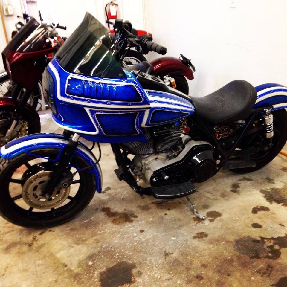 Harley Davidson FXR - custom paint by Newstalgia in Fort Collins