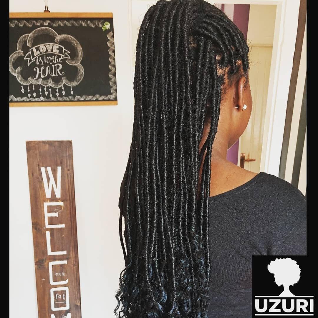Goddess Locs Faux Locs Uganda Natural Hair Salons Hair Styles Goddess Locs