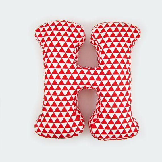 Pillow Letter H Alphabet Pillows