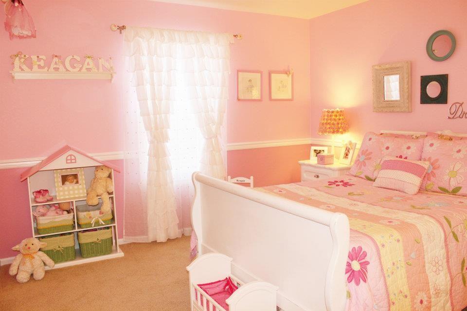 Kinderkamer Van Kenzie : Little girls pink bedroom kid s room kinderkamer