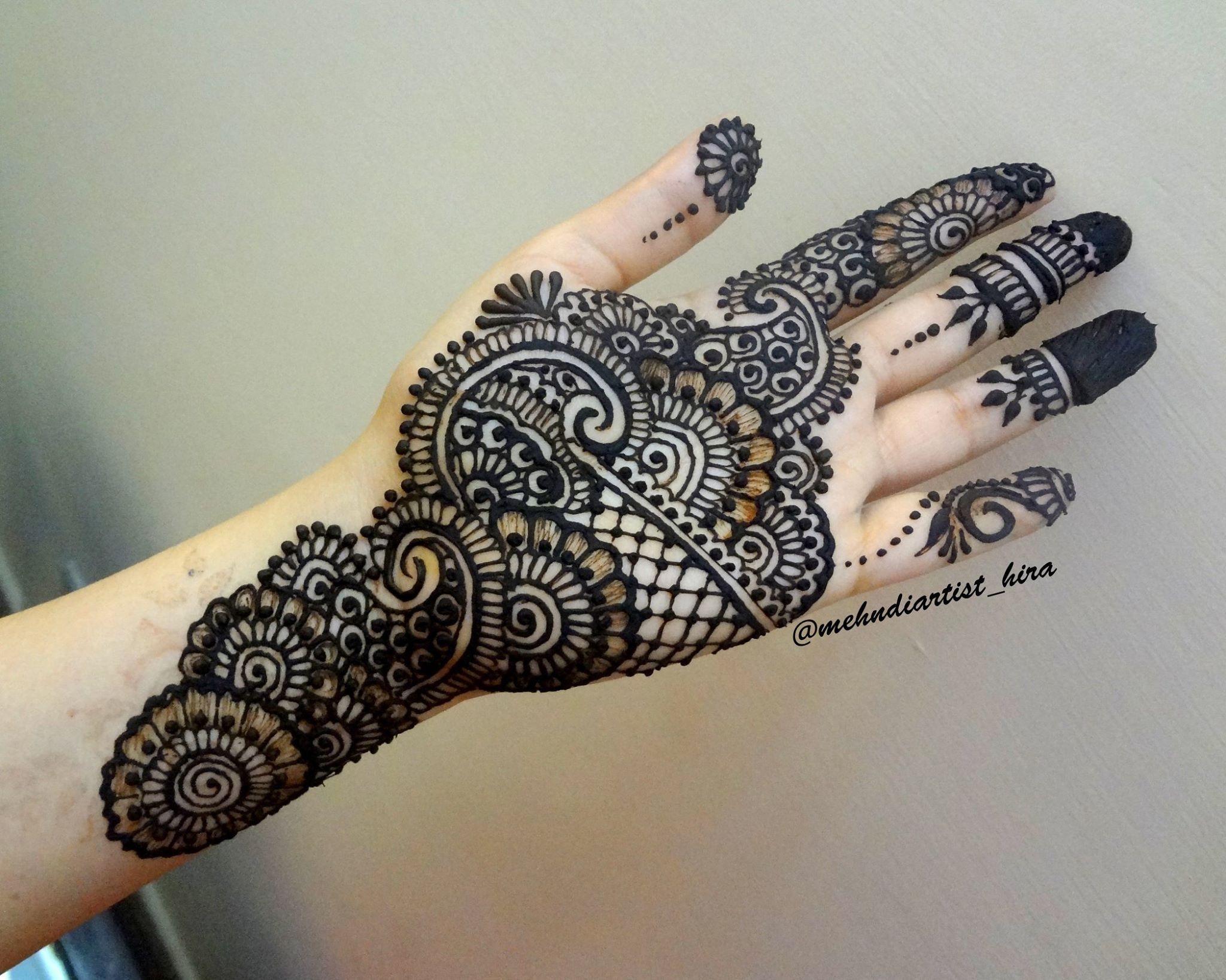 Tatuajes Mehndi Diseños : Pin de mehndiartist hira en henna mehndi by