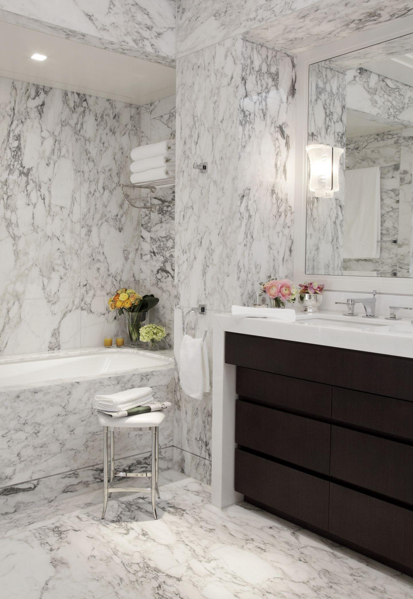Elegantes Marmor Bad Waschtisch Holz Bad Waschtisch Waschtisch