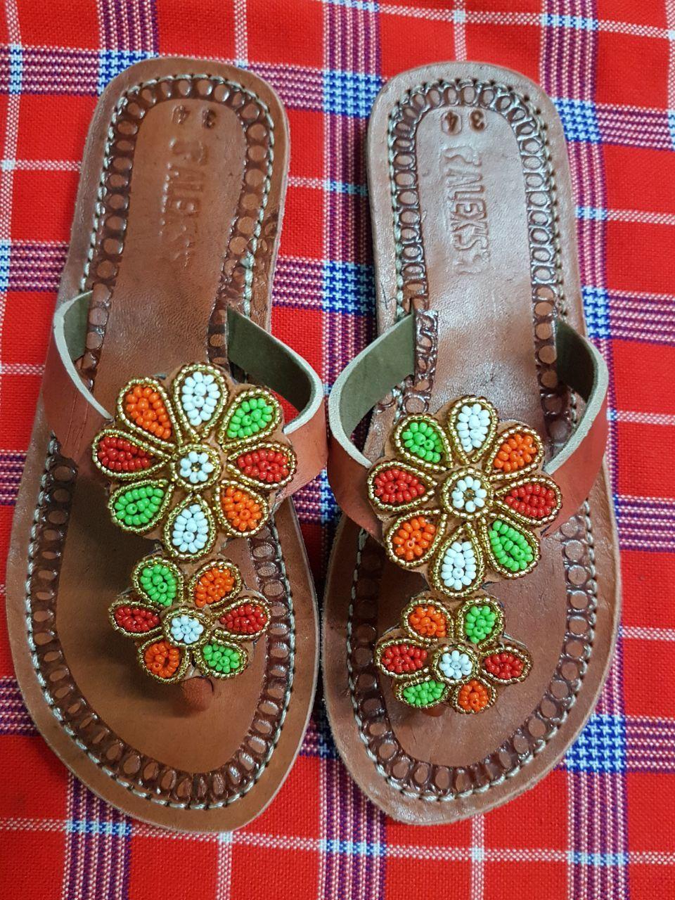 girls sandals  kids sandals  children sandals  maasai sandals  beaded sandals