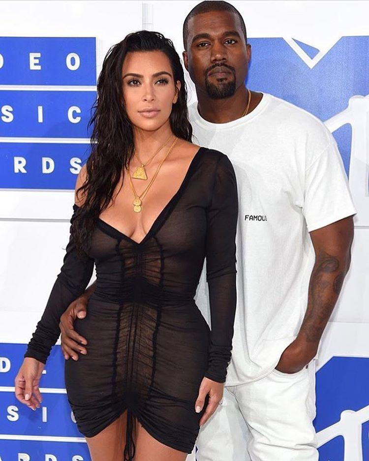 Kim Kardashian And Kanye West At 2016 Mtv Video Music Awards Celebrity Kimye Kimkardashian Kanyewe Pics Of Kim Kardashian Kanye West And Kim Kim And Kanye