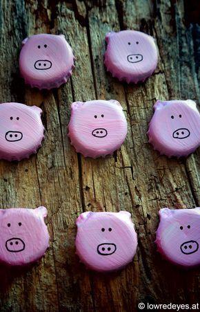 Glücksbringende Saubande …Brot statt Böller... - °the lowredeyes exp.°