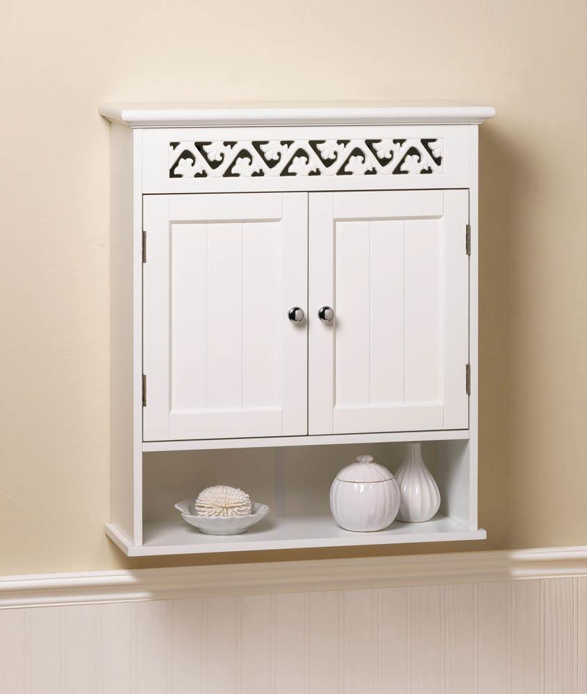 Bathroom wall cabinetwhite ivy lattice bathroom wall cabinets