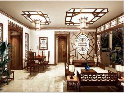 Home Design Modern Mandarin Oriental Chinese Feng Shui Interior