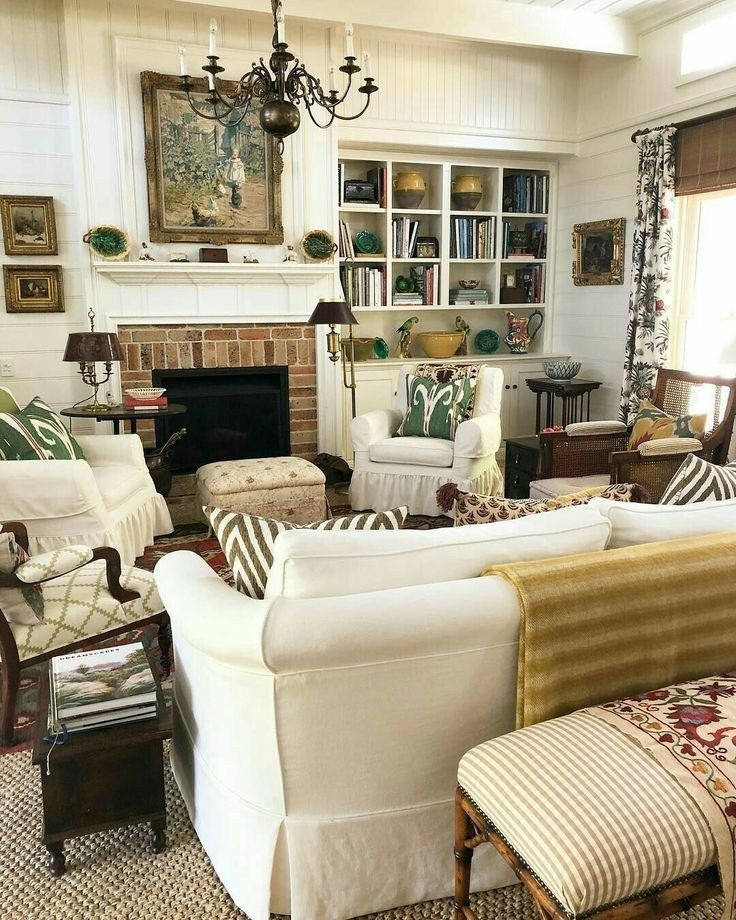 50 charming and cozy neutral living room design ideas 43