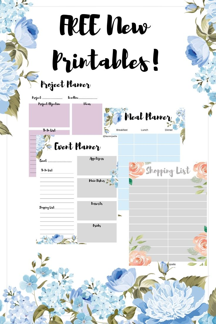 Check out my brand new printables! And the best part
