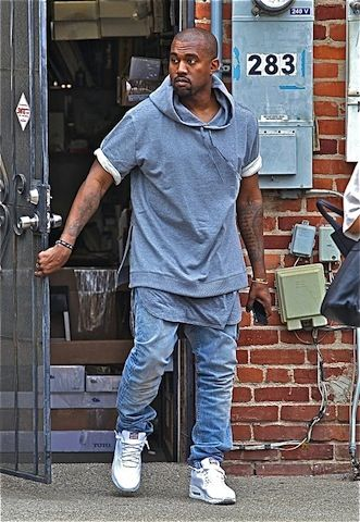 Is Another Kanye West Clothing Line On The Horizon Kanye West Style Kanye West Sweatshirt Nike Air Max White