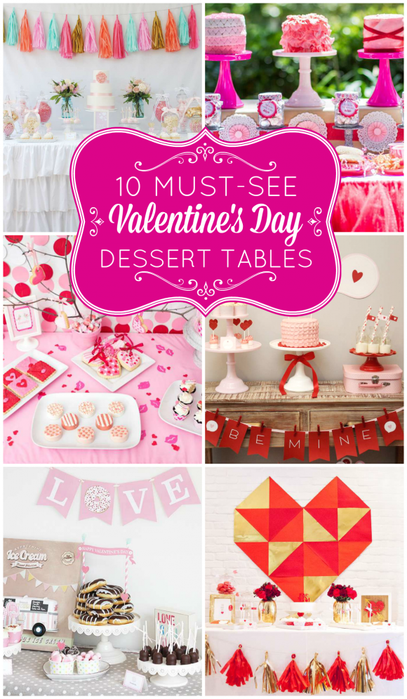 10 must see valentine's day dessert tables | dessert table, fiesta, Ideas