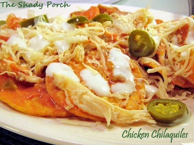 Chicken chilaquiles love food viva mexico pinterest comida chicken chilaquiles forumfinder Gallery