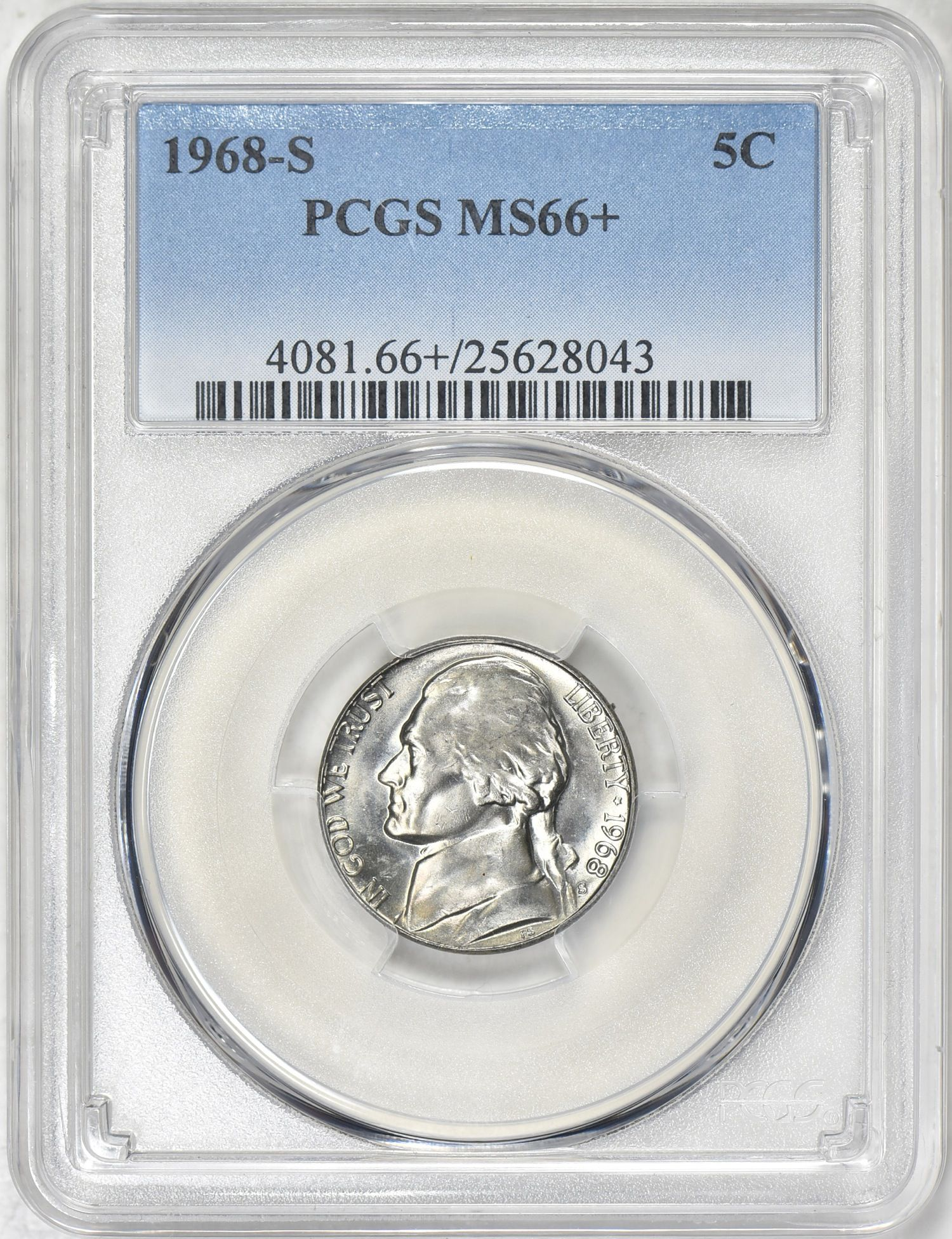 Jefferson Nickel (1938 to Date) Value - PCGS Price Guide