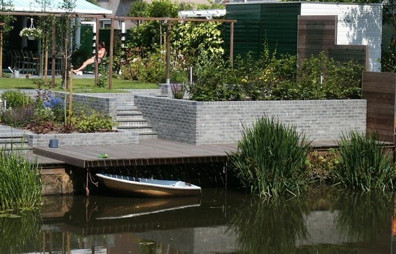 Tuinontwerp tuin aan het water google zoeken tuin pinterest - Tuin grind decoratief ...