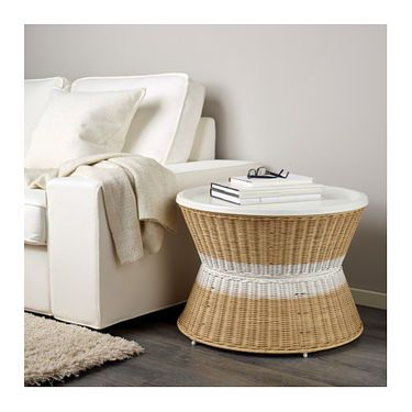 IKEA SANDHAUG tray table Practical storage space underneath the ...