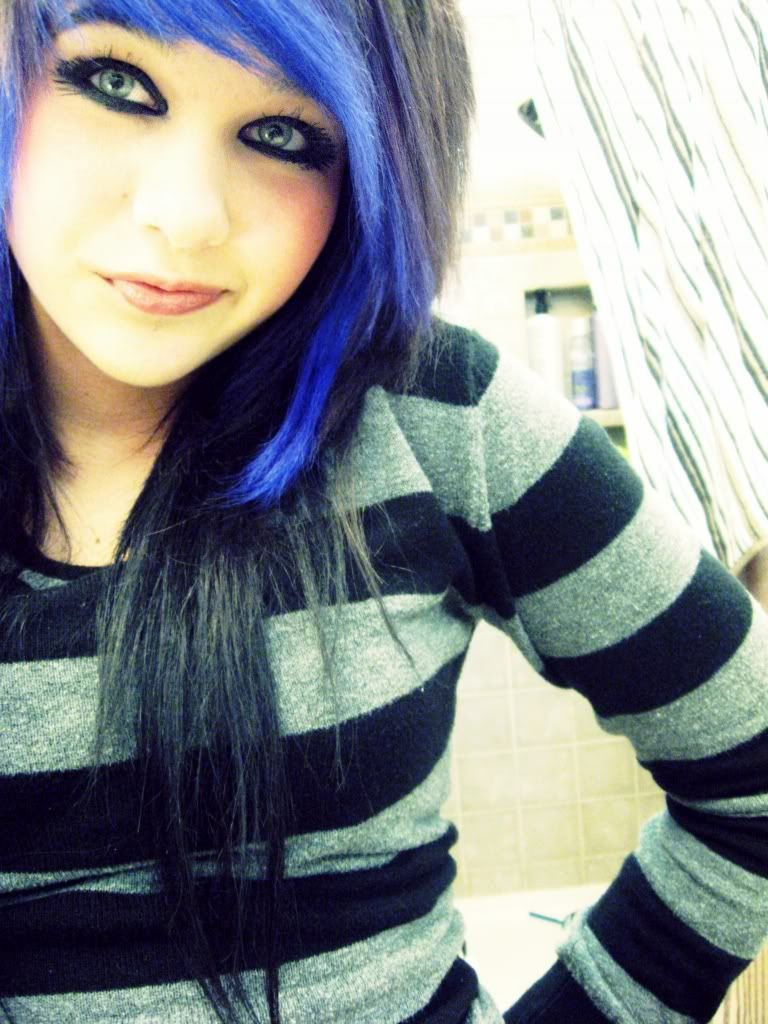 Amber katelyn beale purple bangs amber katelyn beale pinterest