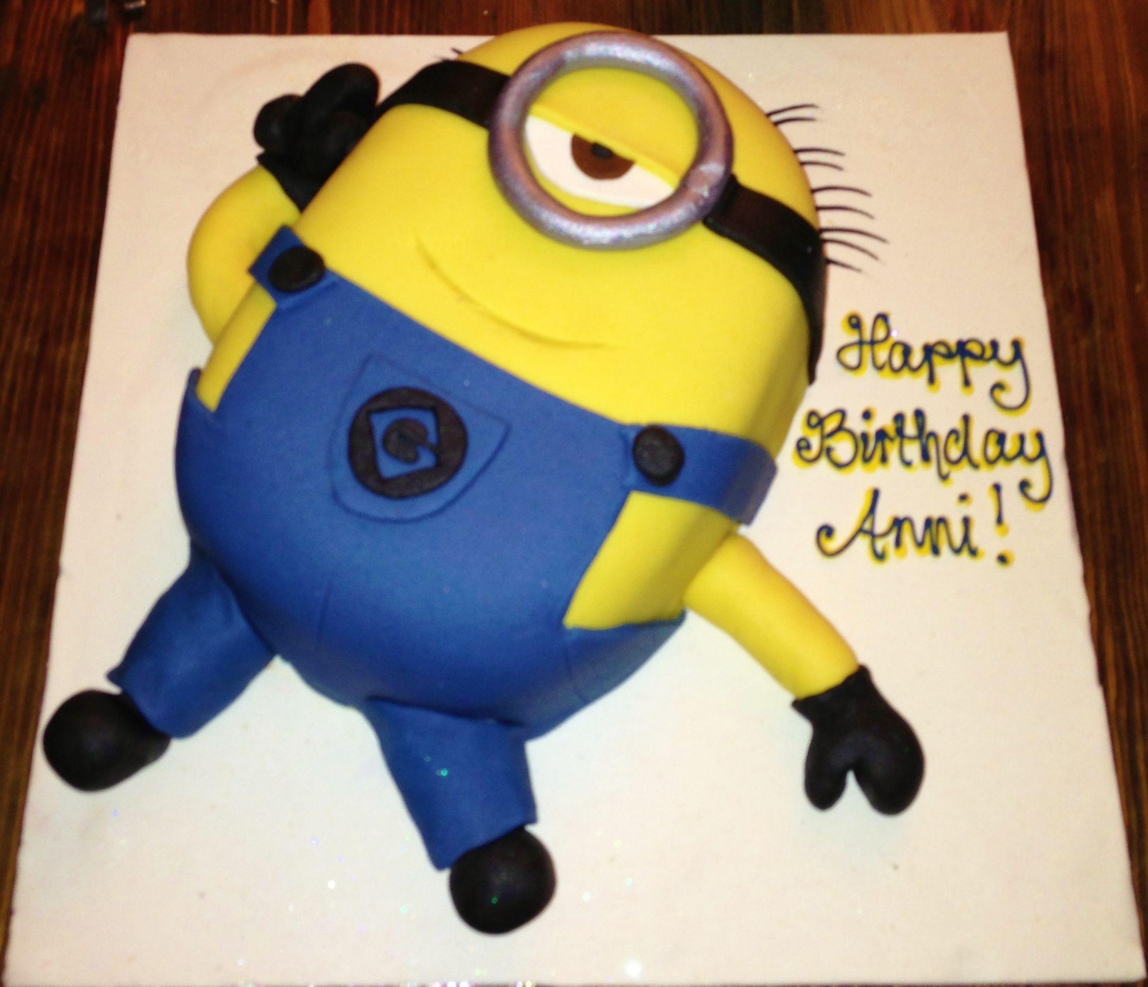 Minion 3d cake bespoke cake design pinterest 3d cakes cake minion 3d cake maxwellsz
