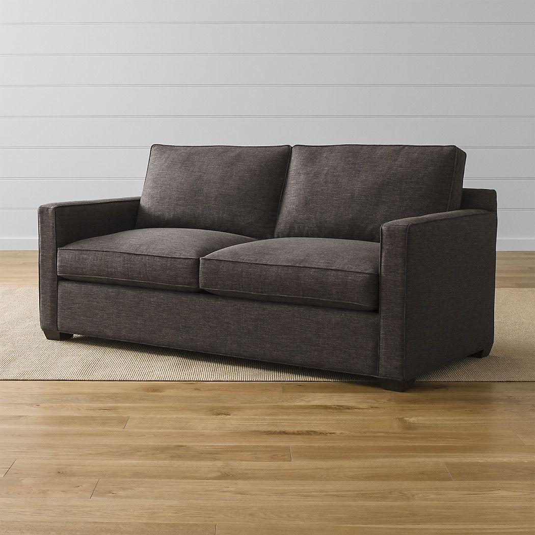 Davis Queen Sleeper Sofa Darius Graphite Crate And Barrel But In