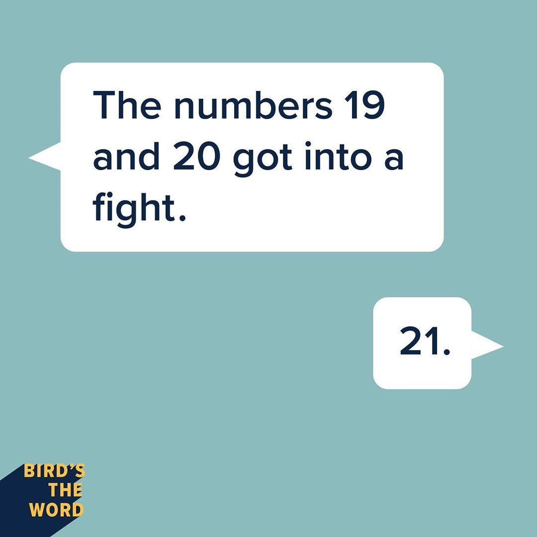 Bird S The Word On Instagram The Number 21 Isn T Messing Around Words Jokes Instagram