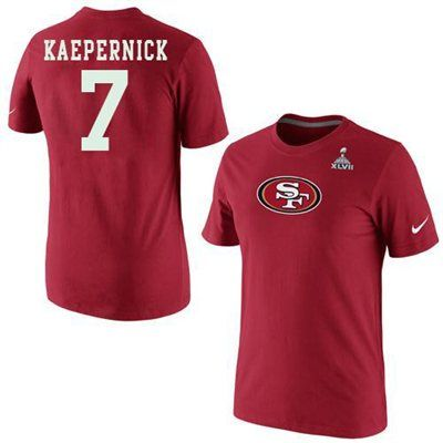 new arrival cbc18 cd52a Nike Colin Kaepernick San Francisco 49ers Super Bowl XLVII ...