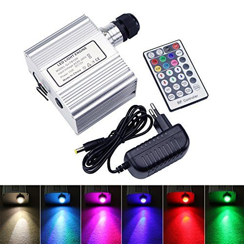 10w Twinkle Engine Driver Cree Led Rgbw Light Source With Rf 28 Key Remote Control For Fiber Optic Li Blue Wedding Centerpieces Fun Wedding Decor Star Ceiling