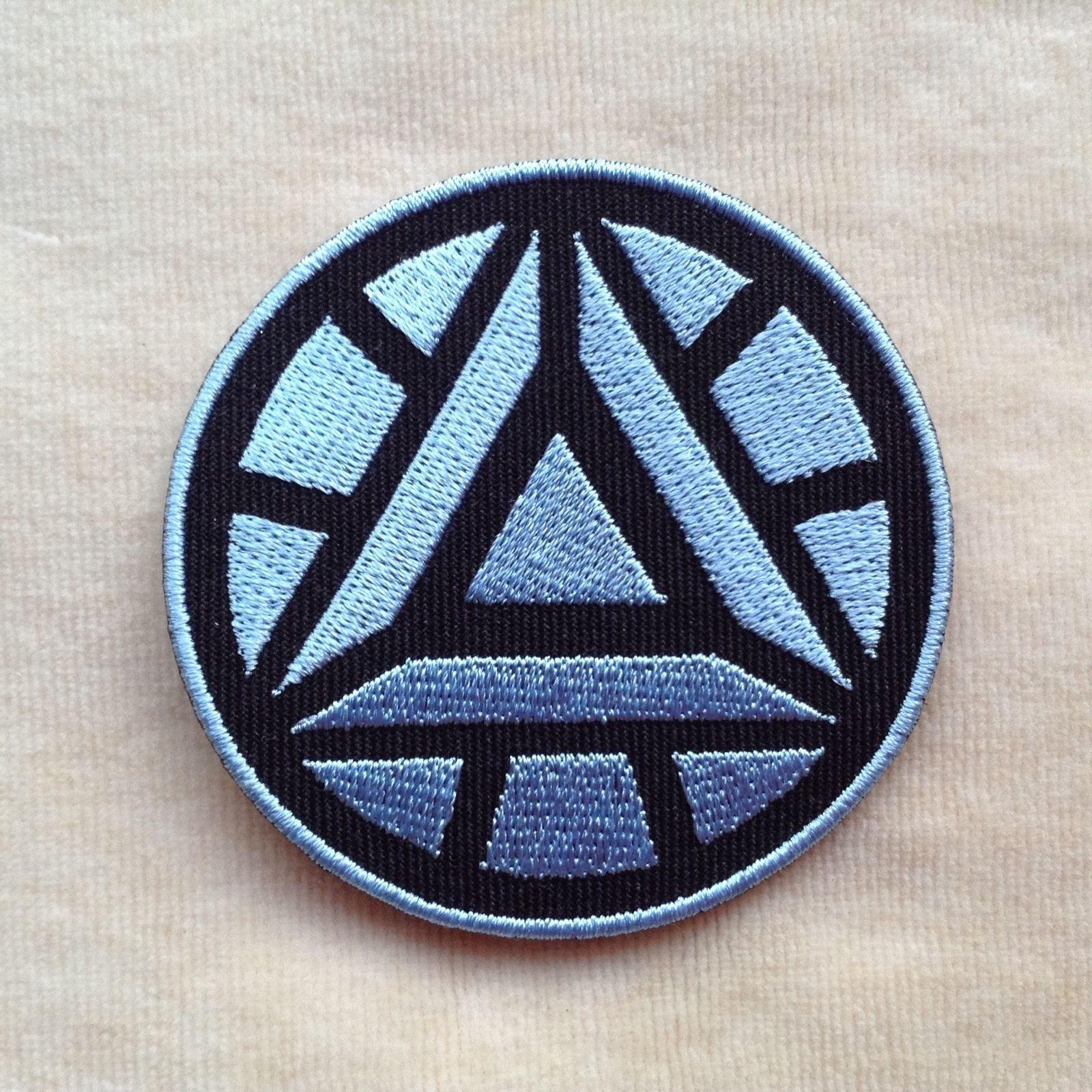 $1 99 - Iron Man Arc Reactor Superhero Embroidery Iron On