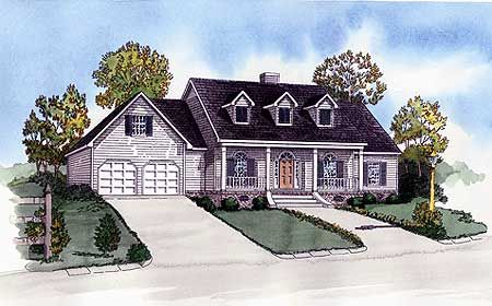 - 8353DC | Southern, Traditional, 1st Floor Master Suite, PDF, Split Bedrooms | Architectural Designs