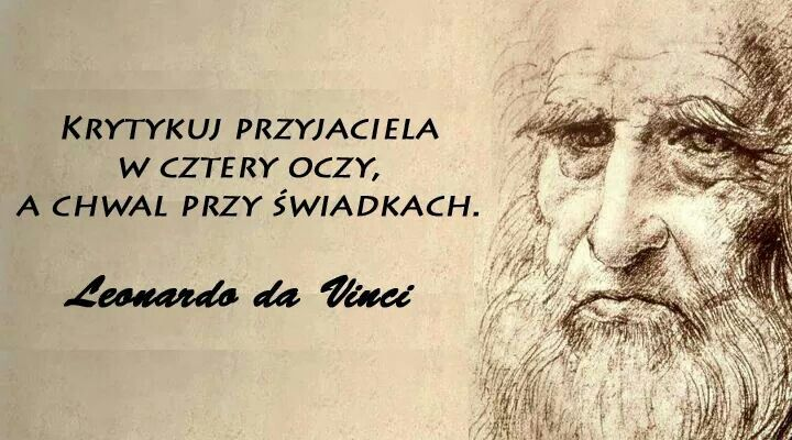 Leonardo Da Vinci Najlepsze Cytaty Mądre Słowa I Myśl