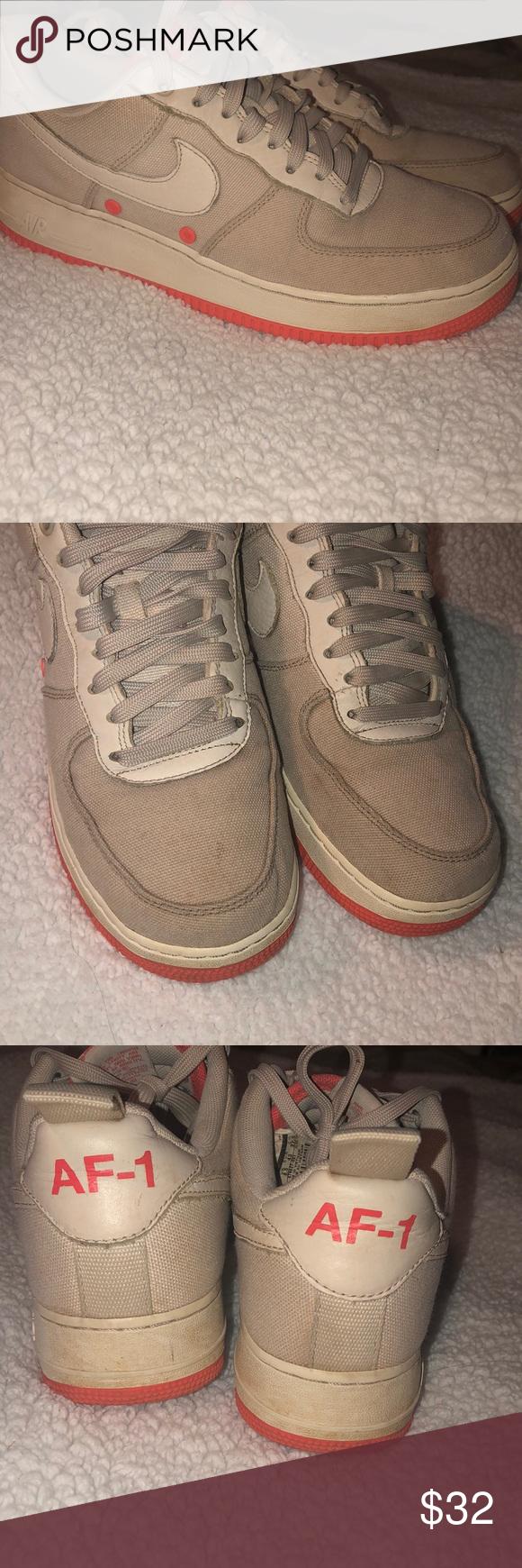 Nike AF1 Desert Sand 🔥   Nike af1, Nike