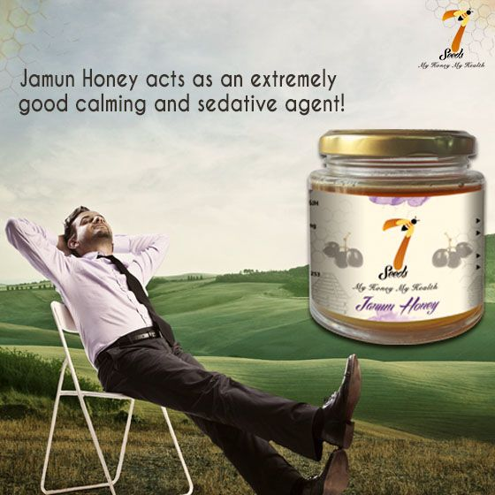 Tired? Stressed out from the long week? Have a spoonful of #JamunHoney and feel relaxed as it acts as an extremely calming and a sedative agent. #7SeedsHoney #HoneyILoveYou #GoodHealth #HealthBenefits #HealthyLiving #Relax  #GoodLife #HealthyLife #Honey #BreatheFree #GoodHoney #Bees #Honey