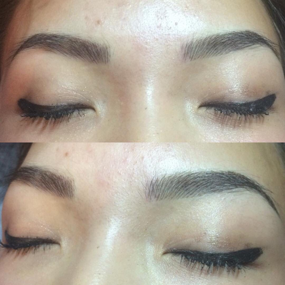 Microblading Eyebrows Here In Las Vegas At New Finish Ink