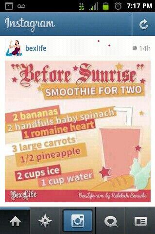 #smoothie #health #bexlife